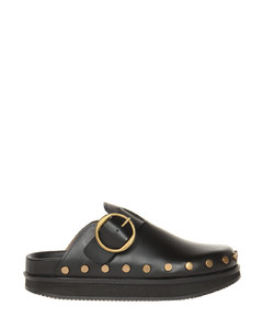 Woman Embellished Satin-paneled Leather Sneakers