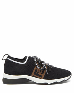 FF mesh-jersey trainers