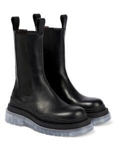BV Tire皮革靴子