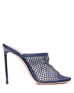 Lyork绒面革和皮革及膝靴