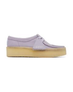 紫色Wallabe Cup莫卡辛鞋