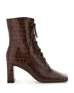 CLAUDE LACE-UP ANKLE BOOTS