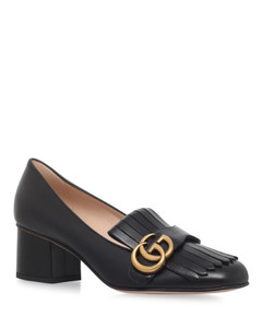 Leather Marmont Pumps 55