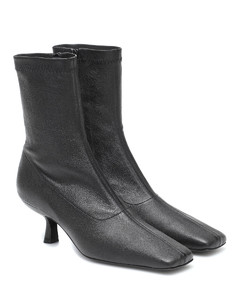 Audrey leather ankle boots