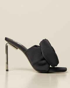 Allen neoprene sandal with maxi bow