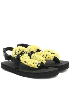 Maria缀饰夹趾凉鞋
