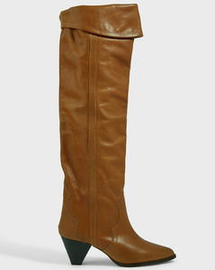 Remko Knee-High Leather Boots