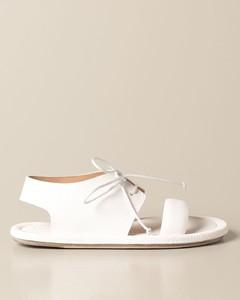 Cornice sandal in volonata leather