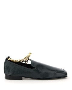 Moccasins By Far for Women Green