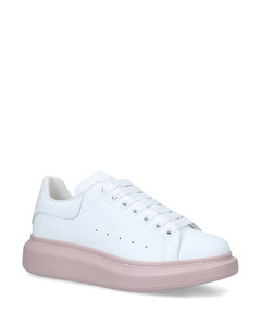 Leather Runway Contrast Sneakers