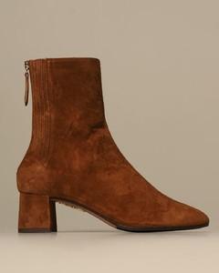 Heeled booties women