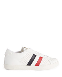Polyester Knit Sneakers In Navy