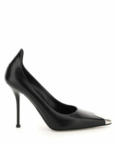 WOMEN'S ROMY85YXQBLACK BLACK SUEDE PUMPS