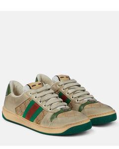 Screener皮革运动鞋