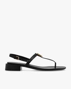 Women's Teri Leather Heeled Boots - Black