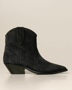 Dewina ankle boot in suede
