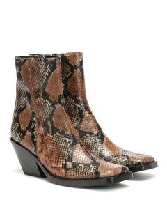 Braxton Viper皮革及踝靴