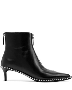 Woman Eri Studded Leather Ankle Boots