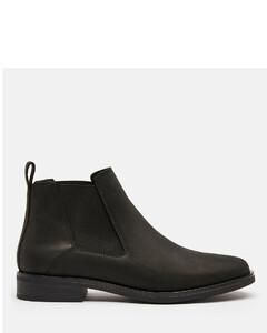 Women's Memi Top Leather Chelsea Boots - Black