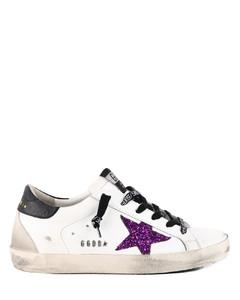 Super star sneaker glitter
