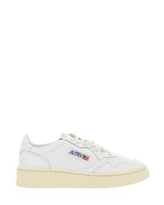 Vieira spikes black leather sneakers