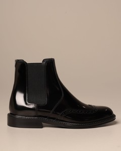 Chelsea boot in brushed leather
