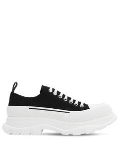 45mm Tread Slick Cotton Canvas Sneakers