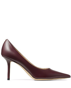 Meline neoprene and leather low-top trainers
