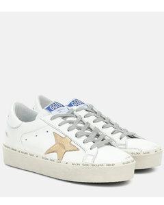 Hi Star皮革运动鞋