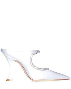 Black 110 patent leather platform boots