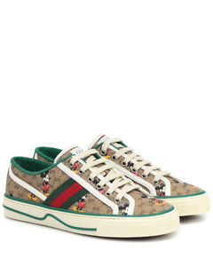 x Disney®Gucci Tennis 1977运动鞋