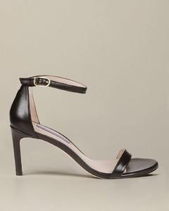 sandal in lurex leather