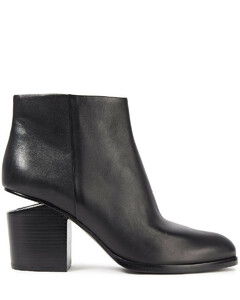 Woman Gabi Leather Ankle Boots