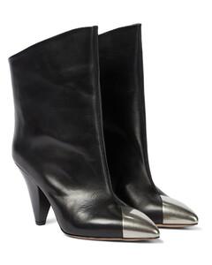Lapee皮革及踝靴