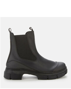 Women's Recycled Rubber Boots - Black