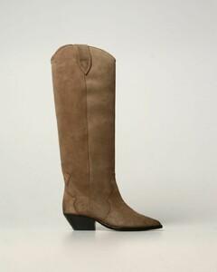 Denvee boots in suede