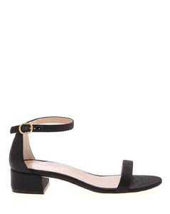 Nudistjune sandals in black