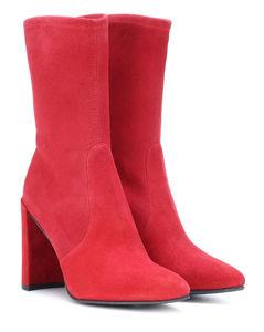 Clinger绒面革及踝靴