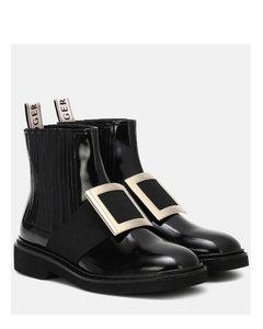 Chelsea Viv'皮革及踝靴