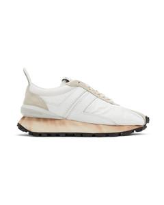 白色Bumpr运动鞋