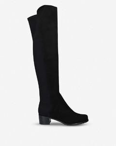 Reserve suede over-the-knee boots