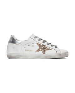 SSENSE发售白色Superstar运动鞋