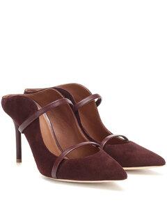 Maureen 85絨面革穆勒鞋