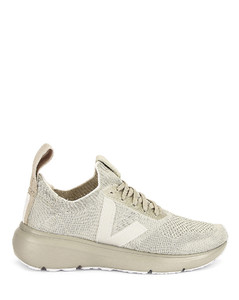 x Veja Low Sock Sneaker in Ivory