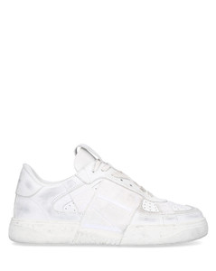 Low-Top Sneakers VL7N USED LOOK calfskin