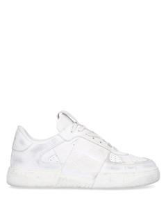 Low-Top Sneakers VL7N USED LOOK calfskin