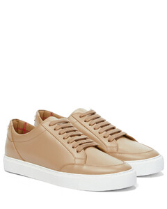 New Salmond皮革运动鞋