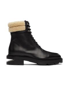 黑色Andy踝靴