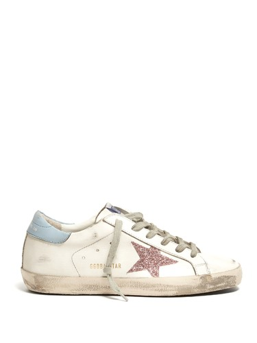 Superstar low-top leather trainers