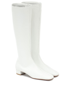 Edie leather knee-high boots